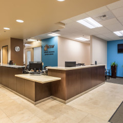 Advanced Orthopedic Reception Area Remodel