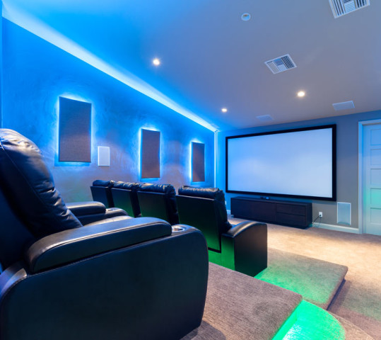 Media and Games Rooms